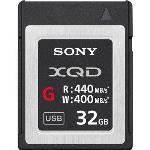SONY 32GB XQD FLASH MEMORY CARD - G SERIES