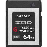 SONY 64GB XQD FLASH MEMORY CARD - G SERIES