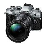 OLYMPUS OM-D E-M5 MKIII DIGITAL CAMERA WITH 12-200MM LENS SILVER