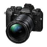OLYMPUS OM-D E-M5 MKIII DIGITAL CAMERA WITH 12-200MM LENS BLACK