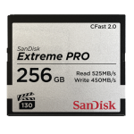 SANDISK 256GB EXTREME PRO CFAST 2.0 MEMORY CARD (525MB/SEC)