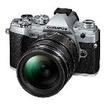 OLYMPUS OM-D E-M5 MKIII DIGITAL CAMERA WITH 12-40MM LENS SILVER