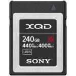 SONY 240GB XQD FLASH MEMORY CARD - G SERIES