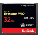 SANDISK EXTREME PRO 32GB COMPACT FLASH 160MB/S