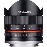 SAMYANG MF 8MM F2.8 FISHEYE - FUJI X FIT