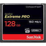 SANDISK EXTREME PRO 128GB COMPACT FLASH 160MB/S