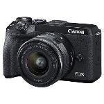 CANON EOS M6 II DIGITAL CAMERA WITH 15-45MM IS STM LENS